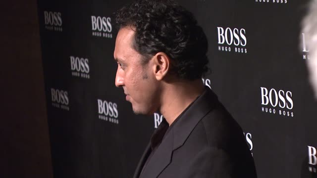 Aasif Mandiv at the HUGO BOSS Hosts BOSS Black Fashion Show at Cunard Building in New York New York on October 17 2007