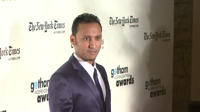 Aasif Mandvi at the 18th Annual Gotham Independent Film Awards at New York NY