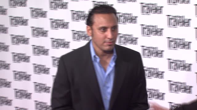 Aasif Mandvi at the Conde Nast Traveler Celebrates 20 Years of Truth in Travel at the CooperHewitt National Design Museum in New York New York on...