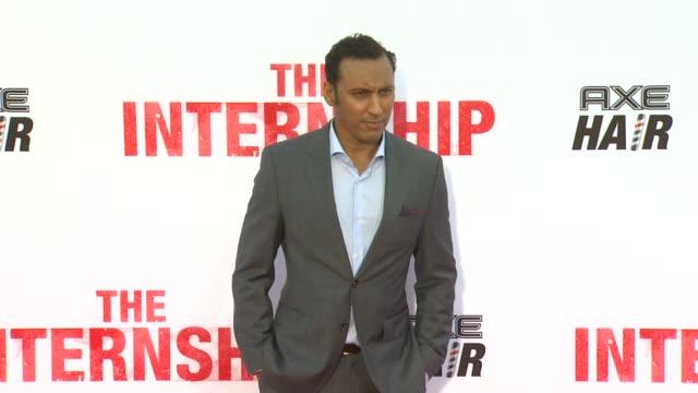 Aasif Mandvi at The Internship Los Angeles Premiere on 5/29/2013 in Westwood CA