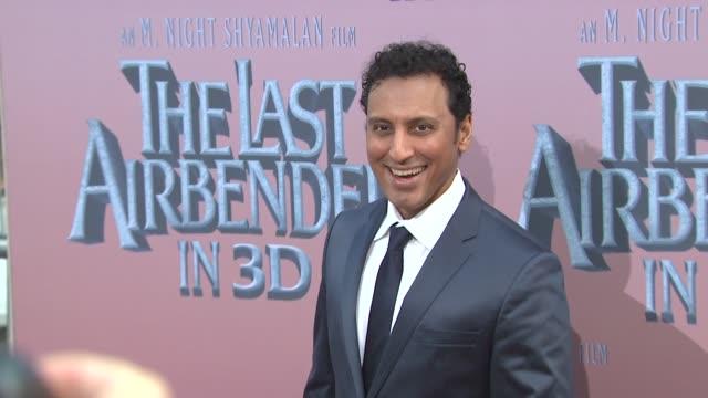 Aasif Mandvi at the 'The Last Airbender' New York Premiere at New York NY