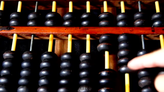 abacus - subtraction stock videos & royalty-free footage