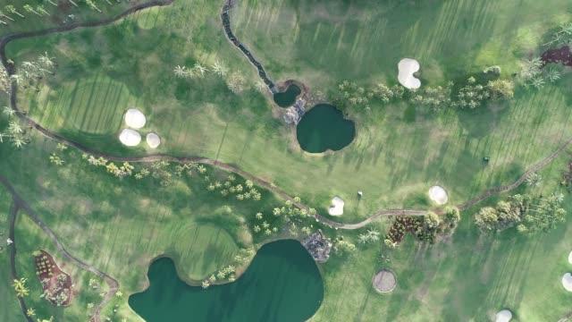 abama golf course, tenerife, canary islands, spain, atlantic, europe - golfplatz stock-videos und b-roll-filmmaterial