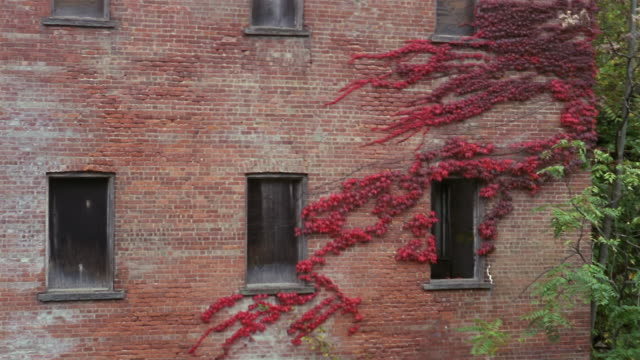 CU, Abandoned brick building, Beacon, New York, USA