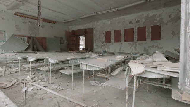 abandoned classroom - ruined stock videos & royalty-free footage