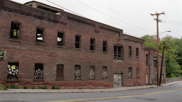 MS, Abandoned factory building, Beacon, New York, USA