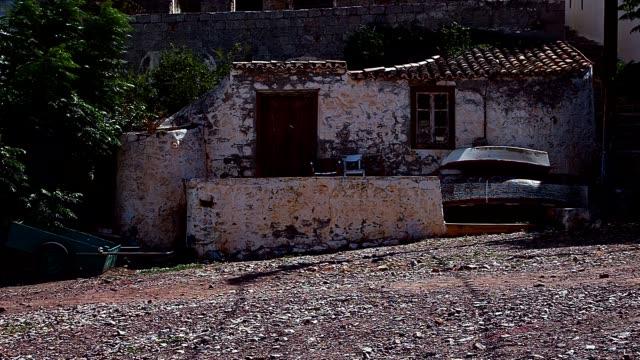Maison de pêcheur abandonnée