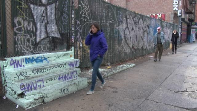 Abandoned Lot, Graffiti, Lower East Side (The Bowery) - Manhattan, NYC