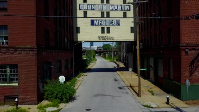 abandoned manufacturing area in st. louis missouri - st. louis missouri stock videos & royalty-free footage