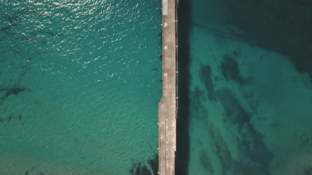 Abandoned mining pier