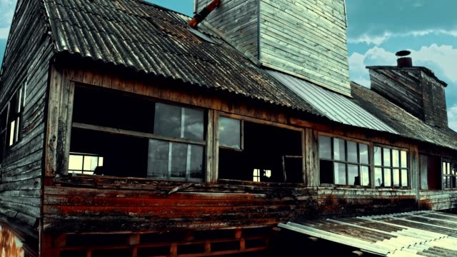 abandoned old granary - barn stock videos & royalty-free footage