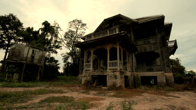 abandoned old house - spooky stock videos & royalty-free footage