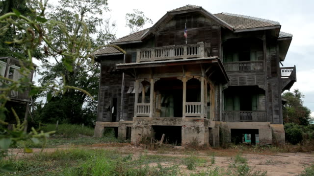 abandoned old house - abandoned stock videos & royalty-free footage