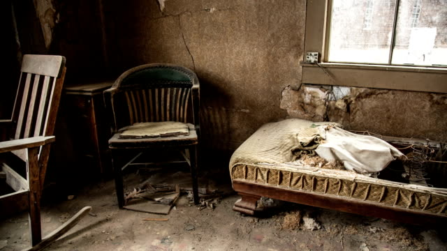 abandoned room - bad condition stock videos & royalty-free footage