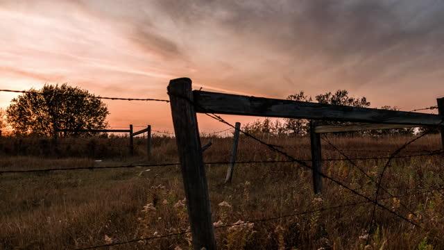 abandoned van as a billboard aside highway - prairie stock videos & royalty-free footage