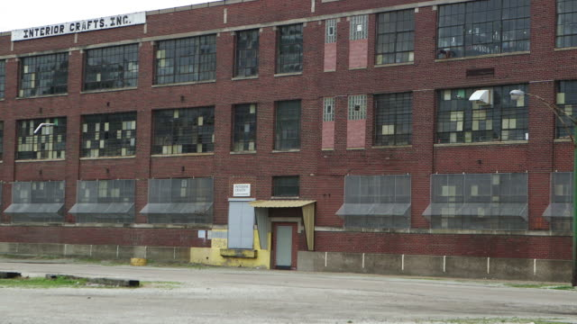 Abandoned Warehouse In Chicago