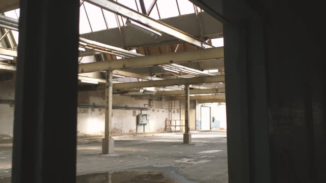 abandoned warehouse - no people stock videos & royalty-free footage