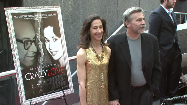 abbe klores and dan klores at the new york premiere of the award-winning documentary 'crazy love' at the beekman 1&2 theater in new york, new york on... - ドキュメンタリー映画点の映像素材/bロール