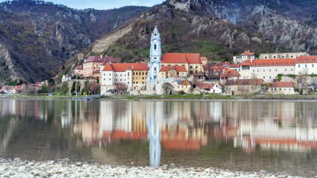 Abbey Church in Duernstein; TIME LAPSE