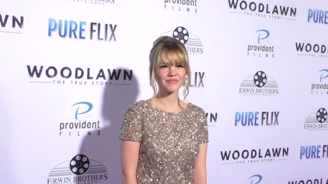 Abbie Cobb at the Woodlawn Premiere at Bruin Theatre on October 05 2015 in Los Angeles California