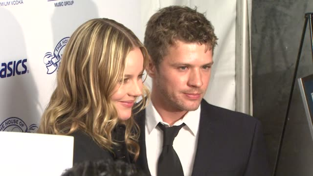 Abbie Cornish and Ryan Phillipe at the NIVEA at the Island Def Jam 2009 GRAMMY's After Party at Los Angeles CA