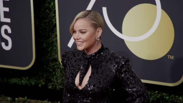 Abbie Cornish at the 75th Annual Golden Globe Awards at The Beverly Hilton Hotel on January 07 2018 in Beverly Hills California