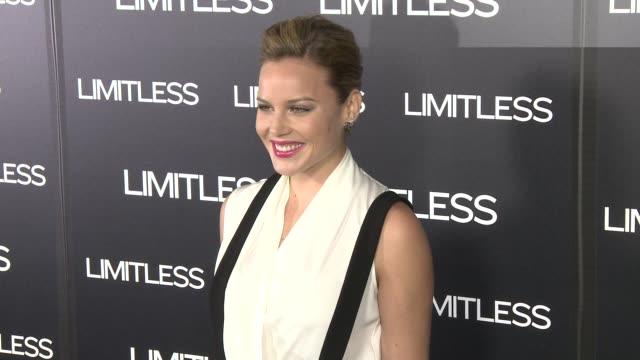 Abbie Cornish at the 'Limitless' Premiere at Hollywood CA