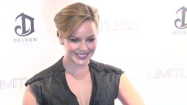 Abbie Cornish at the 'Limitless' World Premiere Arrivals at New York NY