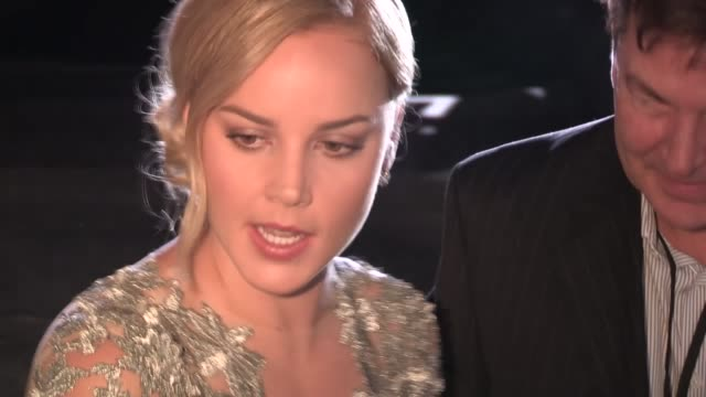 Abbie Cornish greets fans at the Seven Psychopaths Premiere in Westwood 10/01/12