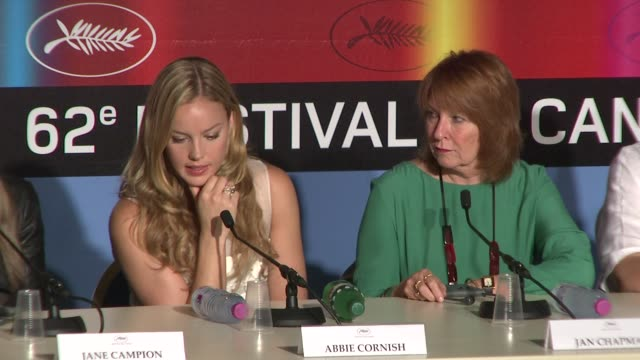Abbie Cornish on the appealing aspects of her character at the Cannes Film Festival 2009Bright Star Press Conference at Cannes