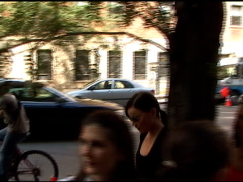 Abbie Cornish on the set of the film WE in the Upper East Side 09/13/10 at the Celebrity Sightings in New York at New York NY