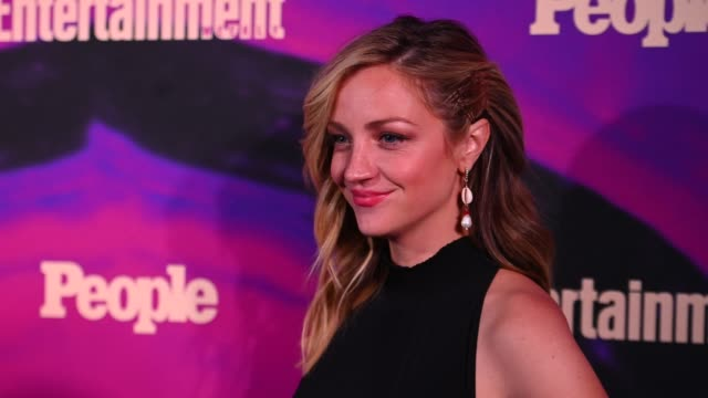 abby elliott at the people entertainment weekly 2019 upfronts at union park on may 13 2019 in new york city - entertainment weekly stock videos & royalty-free footage