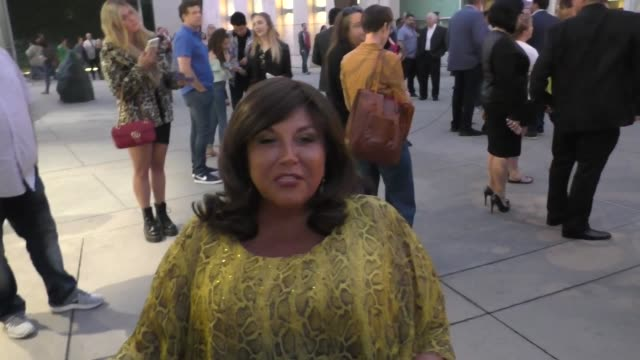 interview abby lee miller gives a health update outside the high strung free dance premiere at arclight cinemas in hollywood on october 10 2019 at... - arclight cinemas hollywood stock videos & royalty-free footage