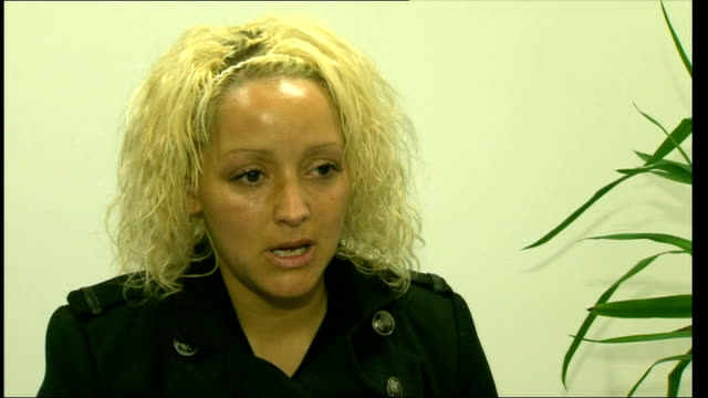 abducted 6yearold atiya anjumwilkinson returns to uk file november 2012 greater manchester int gemma wilkinson interview sot appeals for return of... - 誘拐事件点の映像素材/bロール