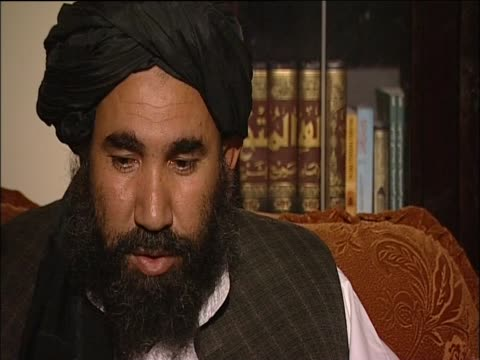 Abdul Salam Zaeff a founder of the Taliban talks about negotiations and resolving the situation in Afghanistan