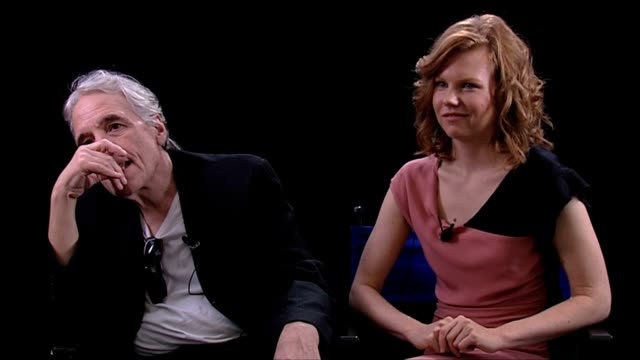abel ferrara and shanyn leigh on working with willem dafoe at the 4:44 last day on earth interviews: venice film festival 2011 at venice . - last day stock videos & royalty-free footage