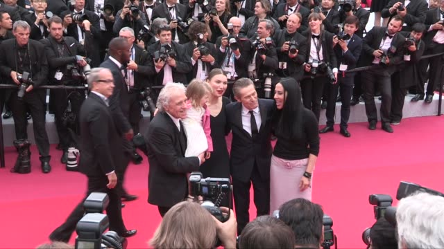 stockvideo's en b-roll-footage met abel ferrara cristina chiriac anna ferrara willem dafoe diego luna on the red carpet for the premiere of la belle epoque cannes france on monday may... - 2019
