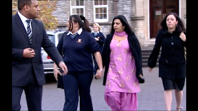 aberdare general view of aberdare girls school and sarika along with mother int sarika at home wearing bangle - bangle stock videos & royalty-free footage
