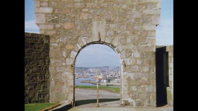1981 aberdeen harbor - aberdeen scotland stock videos & royalty-free footage