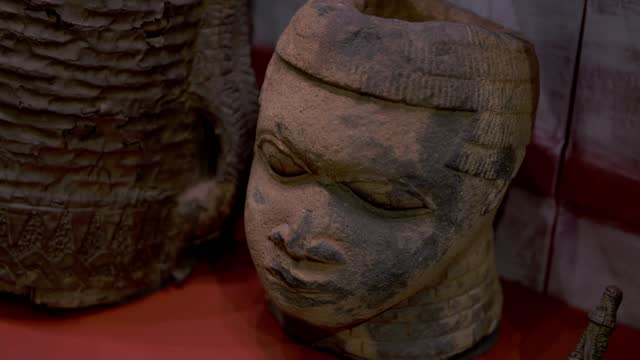 aberdeen university to return stolen benin bronze sculpture; england: london: bloomsbury: the british museum: general views museum seen through gates... - tilt down stock videos & royalty-free footage