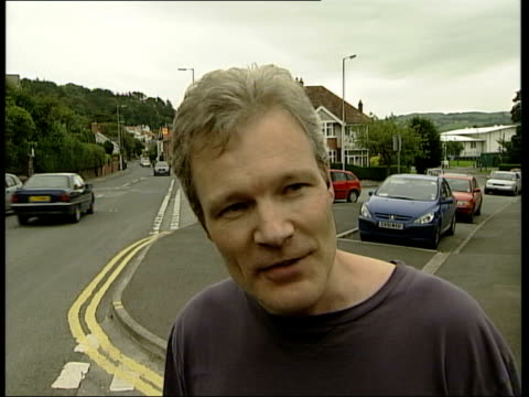 sion jenkins speaking to press sot - i need to find my bearings, last month has been impossible strain / need to rest, settle my priorities, then... - aberystwyth stock videos & royalty-free footage