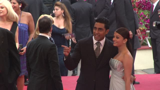 Abhishek Bachchan and Aishwarya Rai Bachchan at the Cannes Film Festival 2009 Spring Fever Steps at Cannes