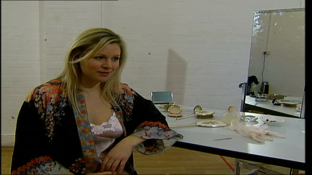 abi titmuss to star in west end play 'two way mirror' int hannah perry interview sot she has taken her clothes off made money out of doing that known... - double chance stock videos & royalty-free footage