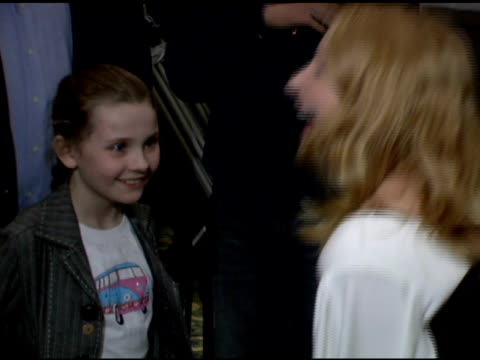 stockvideo's en b-roll-footage met abigail breslin and patricia clarkson at the sundance institute at bam opening night celebration at brooklyn academy of music in brooklyn new york on... - abigail breslin