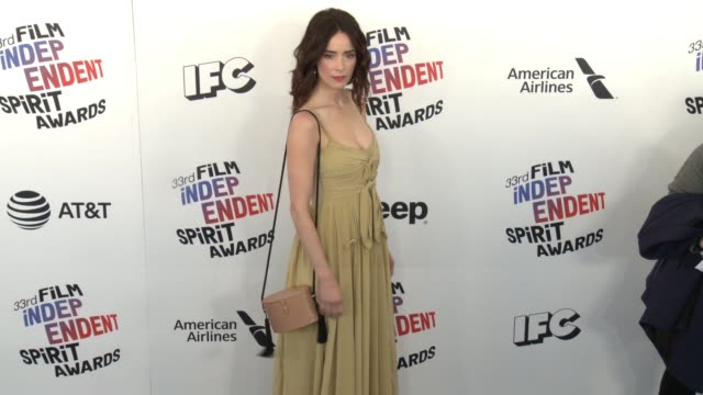 Abigail Spencer at the 2018 Film Independent Spirit Awards on March 03 2018 in Santa Monica California