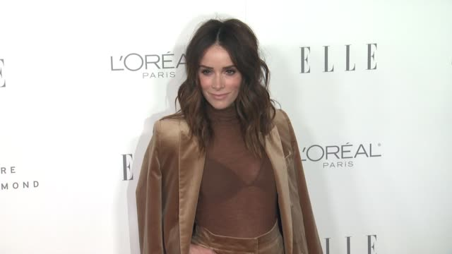 Abigail Spencer at the 24th Annual ELLE Women In Hollywood Awards on October 16 2017 in Los Angeles California