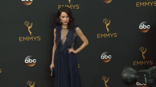 Abigail Spencer at the 68th Annual Primetime Emmy Awards Arrivals at Microsoft Theater on September 18 2016 in Los Angeles California