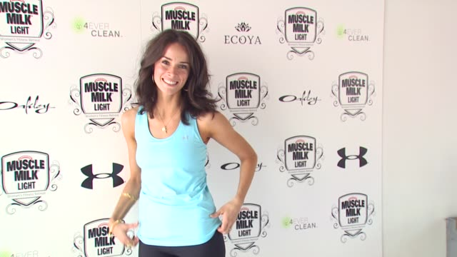Abigail Spencer at the Muscle Milk Women's Fitness Retreat at Beverly Hills CA