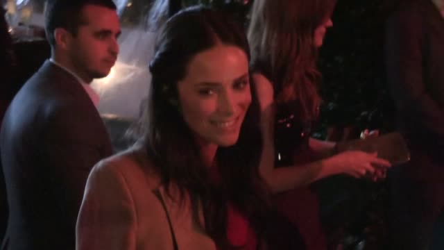 Abigail Spencer greets fan at the Miss Golden Globe 2013 Party in Los Angeles 11/29/12