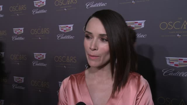 INTERVIEW – Abigail Spencer on Oscar plans and hopeful winners at Cadillac Hosts First Ever PreOscar Event at Chateau Marmont on February 25 2016 in...